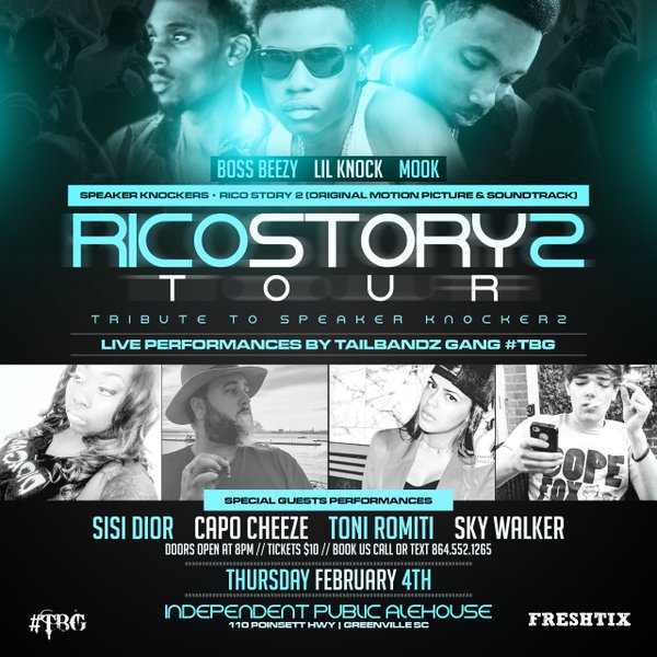 rico story 2 tour
